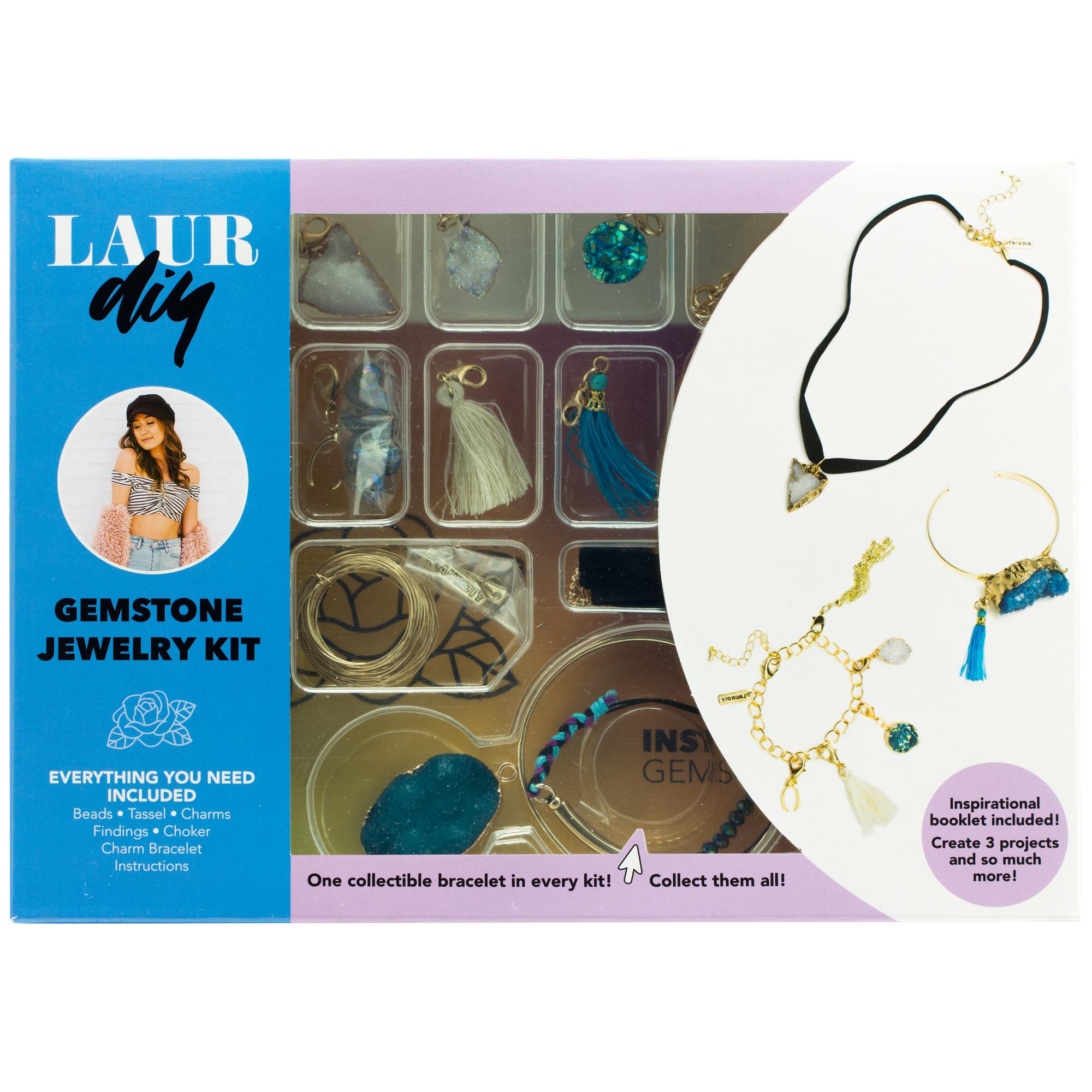LaurDIY Gemstone DIY Jewelry Kit
