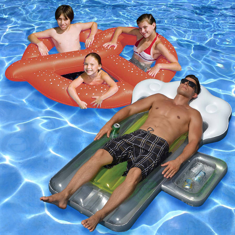 Swimline Beer and Pretzel Pool Floats, Pack of 2