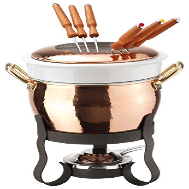 Paderno World Cuisine Copper Fondue Set