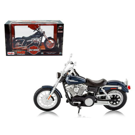 Newer Dyna Models (2006 Harley Davidson FXDBI Dyna Street Bob Bike Motorcycle Model 1/12 by Maisto )