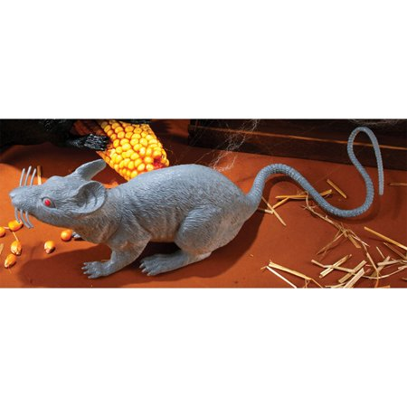 Rat Halloween Costume (Morris Costumes Big Rat Animals Small Decorations & Props Grey, Style)
