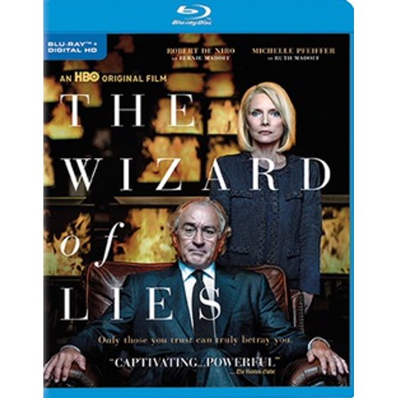 Image result for the wizard of lies blu ray