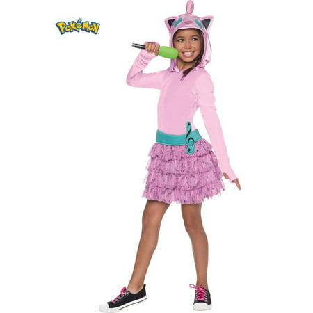 Pokemon Girls Jiggly Puff Hooded Costume - Wholesale Pokemon
