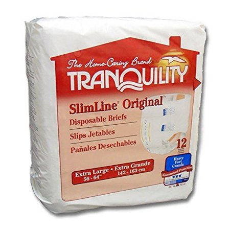 Tranquility Tab Closure Disposable Heavy Absorbency Adult Incontinent Brief, (Tranquility Adult Diapers)