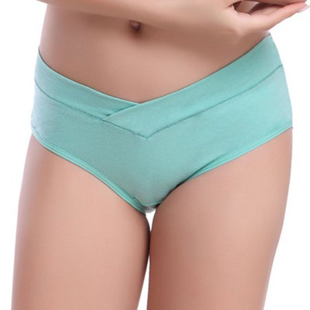 3pcs Cotton U-Shaped Low Waist Maternity Underwear Pregnant Women Panties Pregnancy -