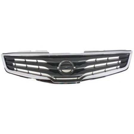 Go-Parts » 2010 - 2012 Nissan Sentra Grille Assembly 62070-ZT50A NI1200237  Replacement For Nissan Sentra