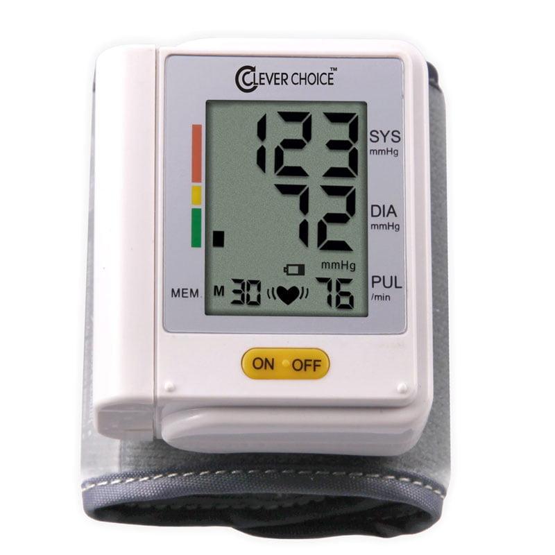 Clever Choice Automatic Wrist Blood Pressure Monitor SDI-1586W