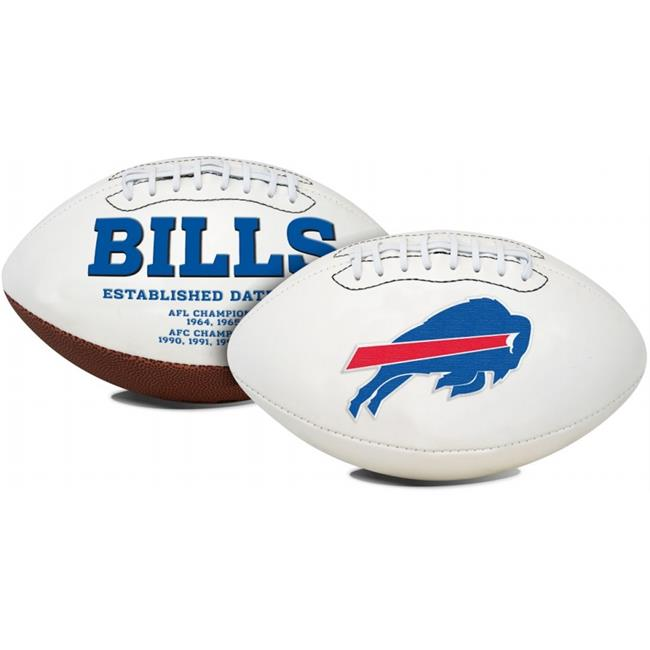 Buffalo Bills Full Size Embroidered Signature Series Football