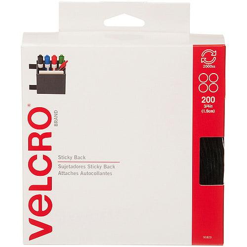 VELCRO Brand Sticky Back Round Coin Tape