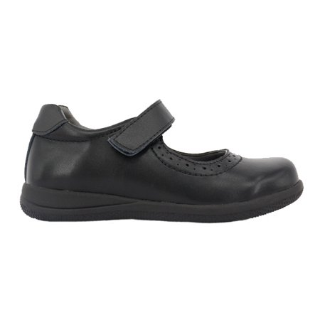 Happystep? Genuine Leather Toddler Little Girl Mary Jane School Uniform Formal Dress Shoes - Black (1 Pair) - image 6 of 6