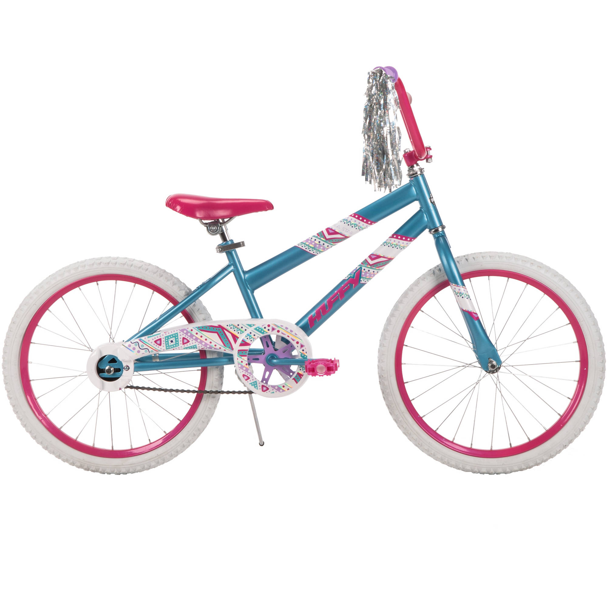 "20"" Huffy Girls' Sea Star Bike, Aqua Blue"