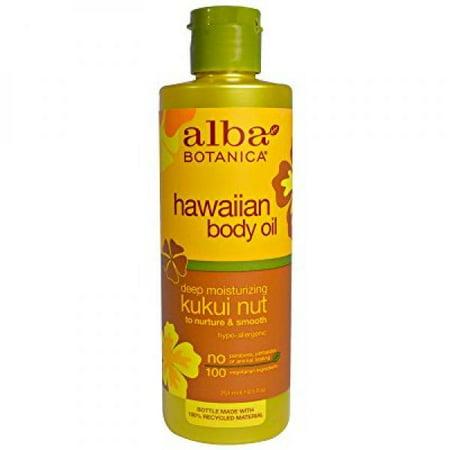 Alba Botanica Massage Oil Kukui Nut