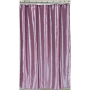 Royal Bath Shimmer Faux Silk Shower Curtain 100% Polyester, Size 70X72 In Purple