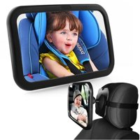 Product Image Safety View Baby Mirror Back Car Seat Cover For Infant Toddler Rear Ward