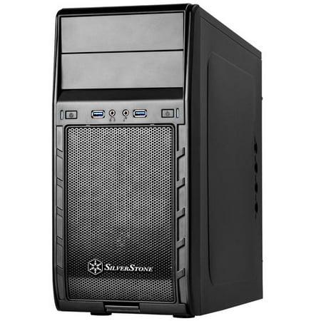 - Black, Plastic Bezel, Steel body black internal, M-ATX M/B, 1*120mm fan, 1*92mm fan+ 1*80mm fan, 2*5.25, 4*3.5+1*2.5