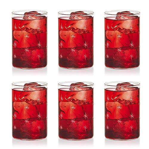 Borosil Vdmg295 Vision Deco Medium Galaxy Glass Set Of 6 Clear Lightweight Durable Drinkware Odor Resistant Dishwasher Safe For Water Juice Beer Wine And Cocktails 10 Ounce Cups Walmart Com Walmart Com