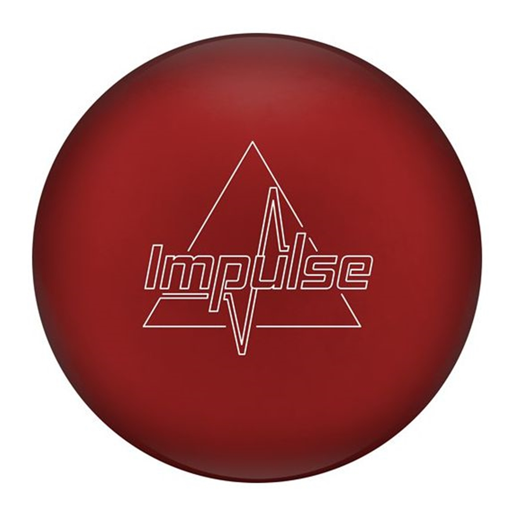 Columbia 300 Impulse Solid Bowling Ball- Red (16lbs) by Columbia 300 Bowling Products