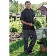 "4010-4110 2"" Trad Chef Pant in Chalk Stripe - 6XLarge"