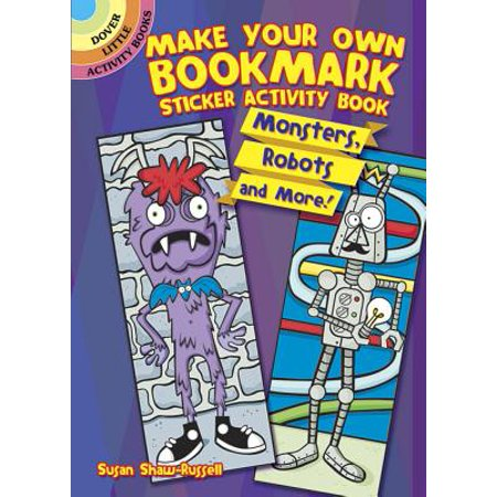 Make Your Own Bookmark Sticker Activity Book : Monsters, Robots and More!](Make Your Own Puzzle Online)
