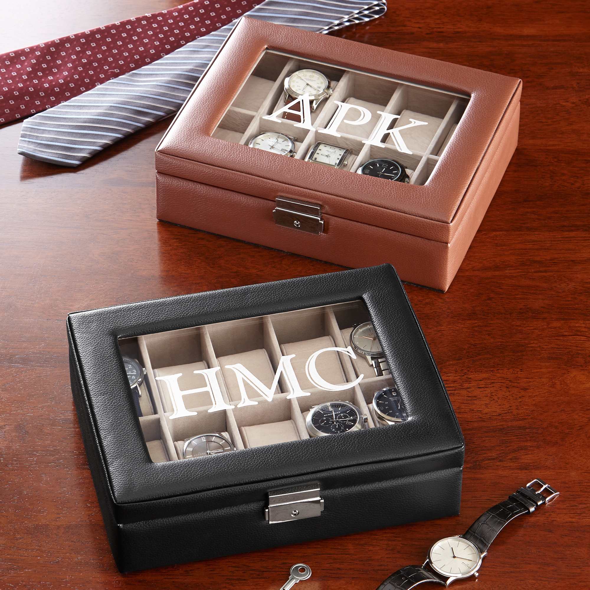 Personalized Watch Box
