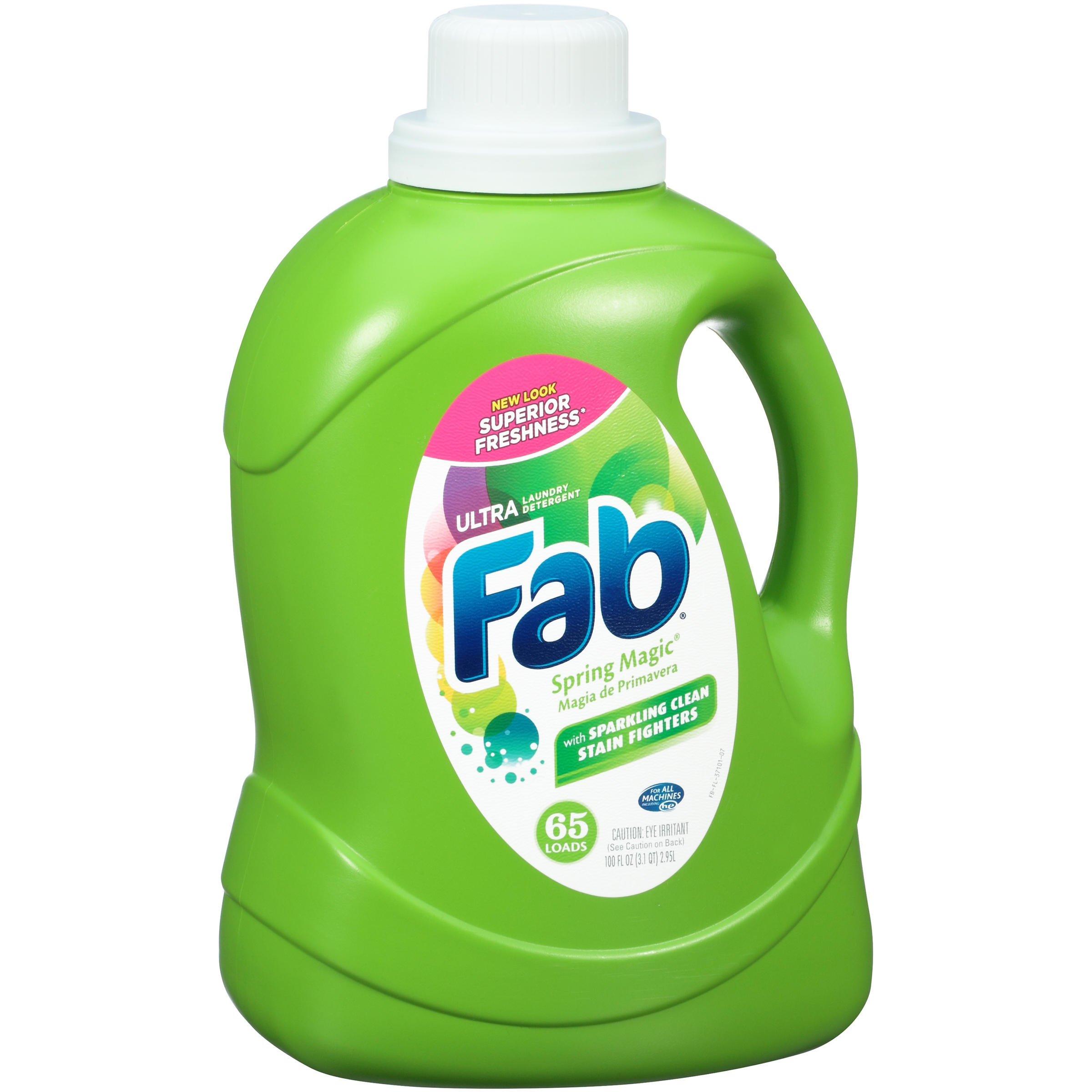 Fab® Ultra Spring Magic® with Sparkling Clean Stain Fighters 65 Loads 100 fl. oz.