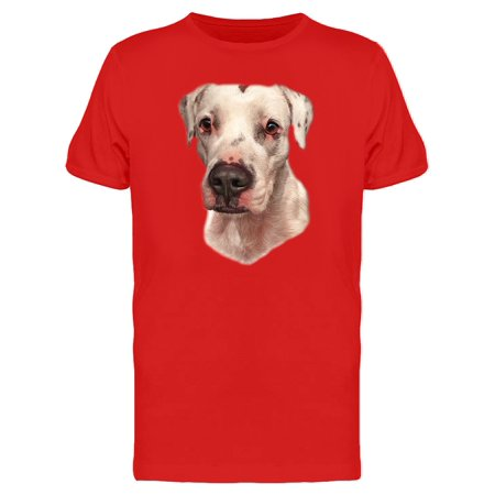 Dogo Argentino Realistic Photo Tee Men's -Image by