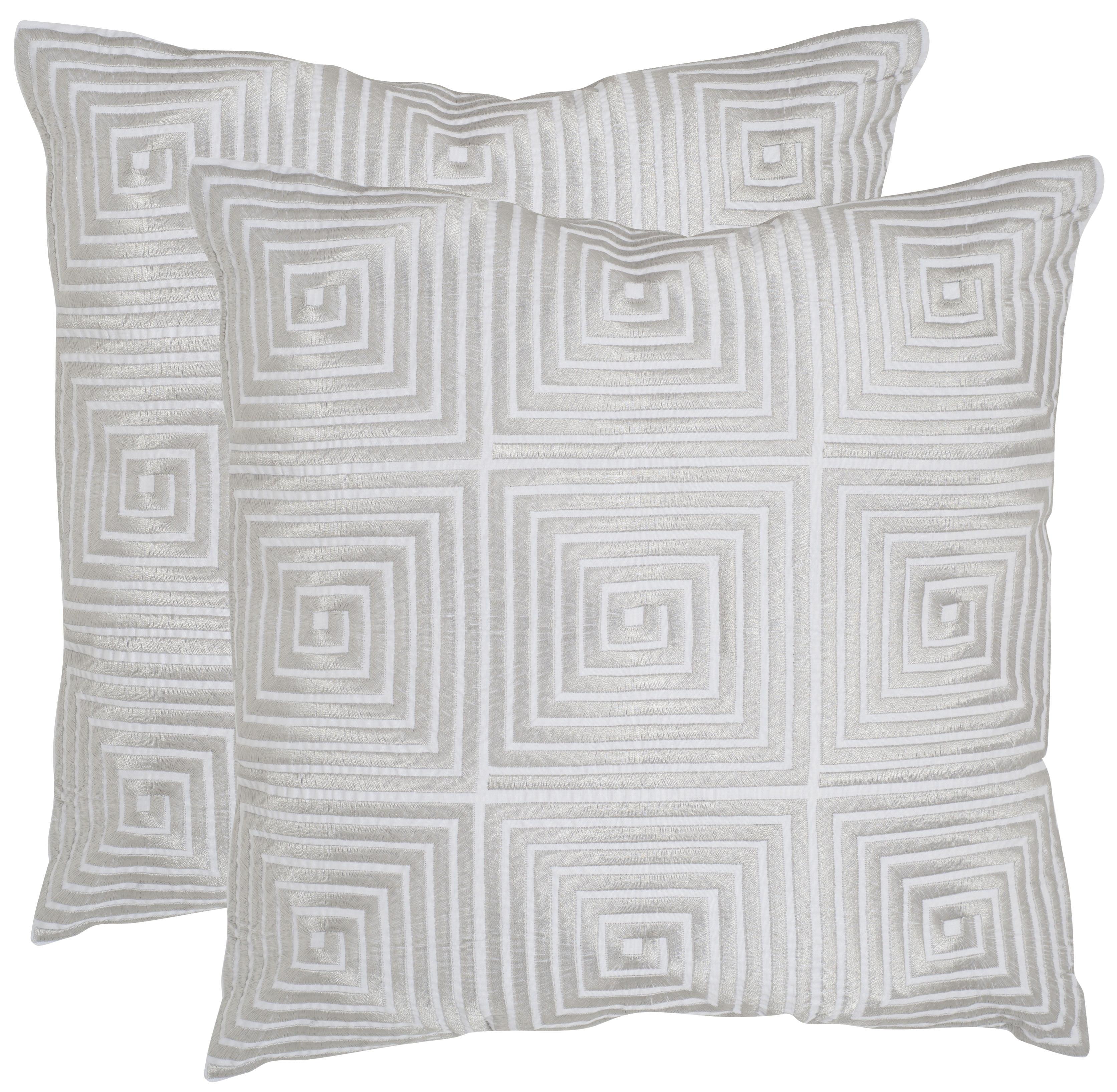 Safavieh Lacie Geometric Pillow, Set of 2