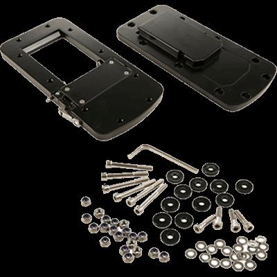 - MotorGuide #8M0092064 Xi5 Quick Release Bracket, Aluminum, Black
