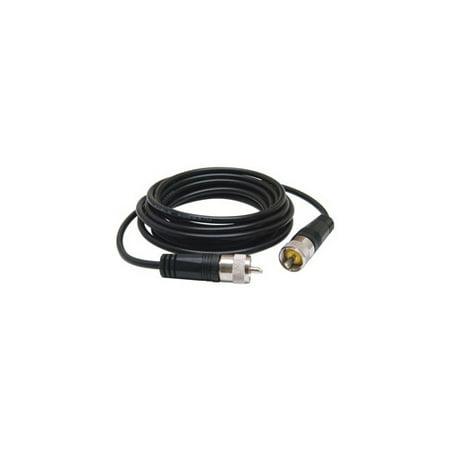 TRUCKSPEC R TS-9CC 9     CB ANTENNA COAX CABLE WITH PL-259 CONNECTORS  BLACK