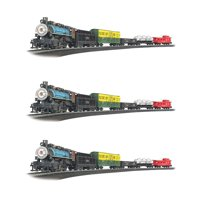 Bachmann Trains Chessie Special Coal 1:87 Ho Scale Model Train Set (3 Pack)