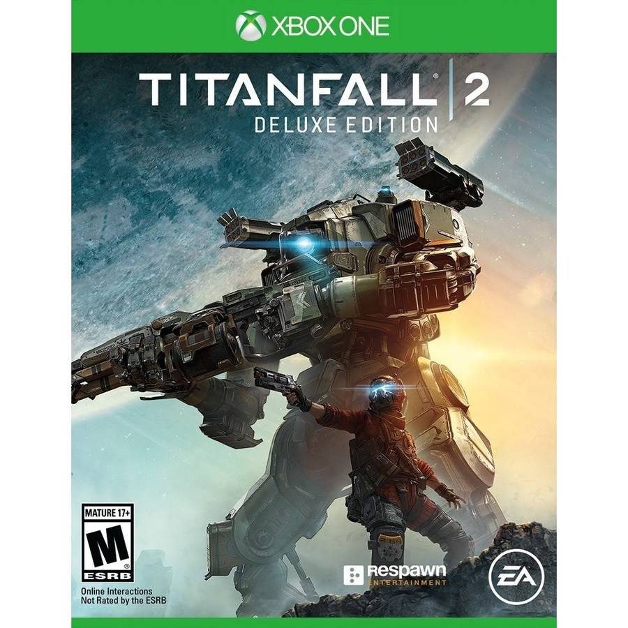 Titanfall 2 Deluxe Edition, Electronic Arts, Xbox One, 014633736496