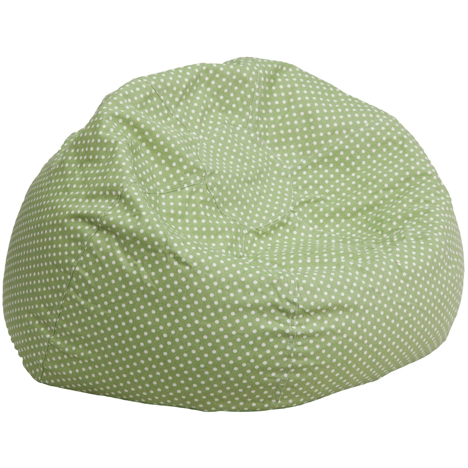 Oversized Polka Dot Bean Bag Chair, Multiple Colors