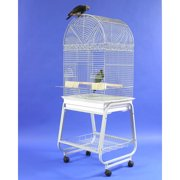 A Cage Co. Dome Top Bird Cage with Plastic Base and Stand