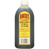 (3 Pack) Baker's Imitation Vanilla Extract, 8 fl oz