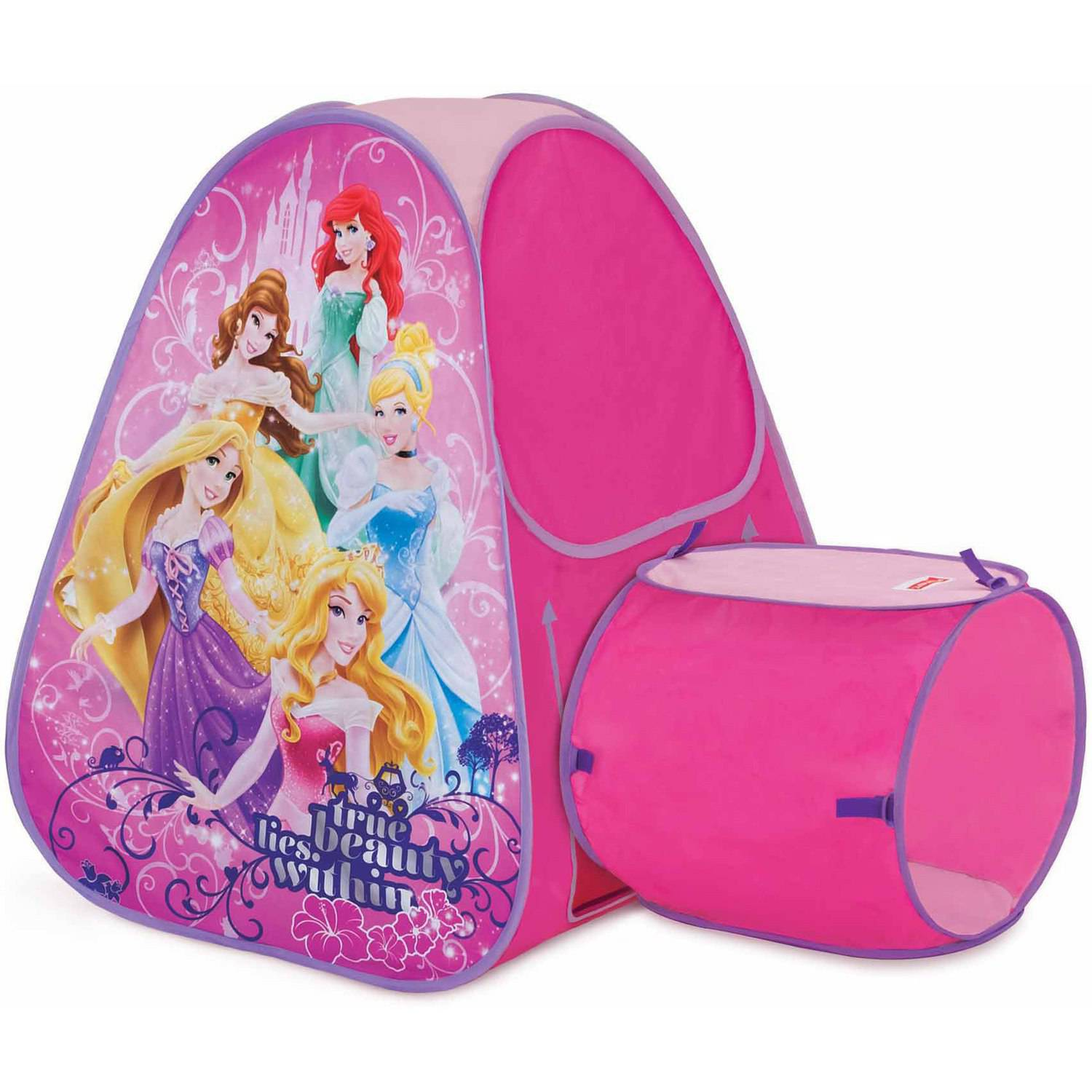 Playhut Disney Princess Hide About Tent and Tunnel Port