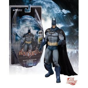 DC Direct 2010 SDCC San Diego ComicCon Exclusive Batman Arkham Asylum Battle Damaged Batman - image 1 of 1