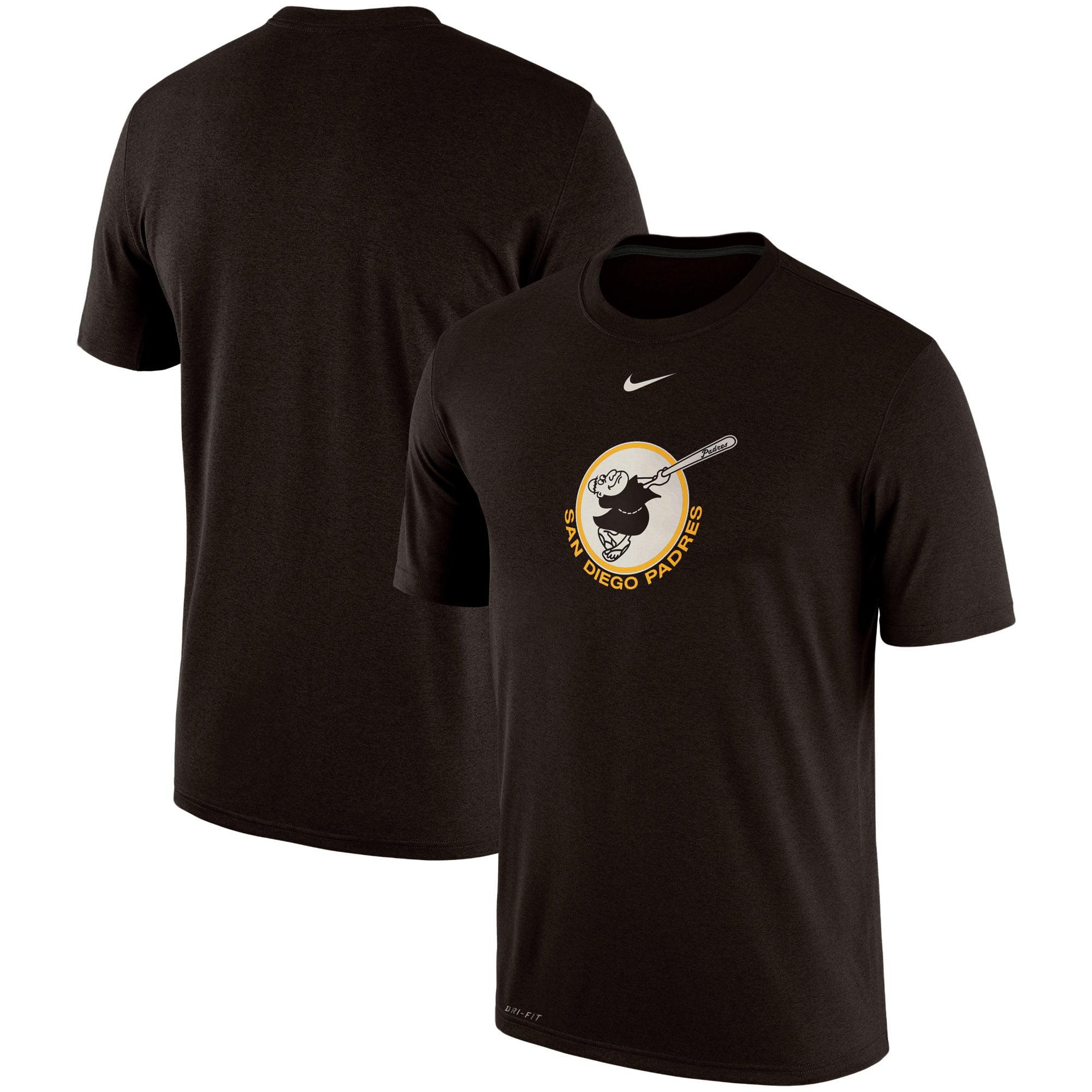 San Diego Padres Nike Batting Practice Logo Legend Performance T-Shirt - Brown
