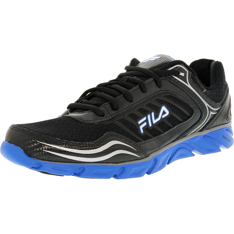 Fila Men's Memory Fresh 2 Black Fila Red Metallic Silver Ankle-High Running Shoe 10M by Fila