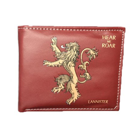 Tv series game of thrones lannister mens boys wallet w for Game of thrones gifts for men
