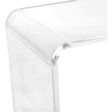 Safavieh Atka Acrylic Console Table, Clear for $<!---->