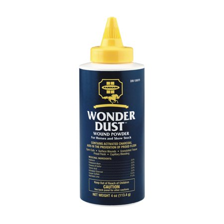 Farnam Wonder Dust Wound Powder (T & B Sales Advanage Wonder Cleaner)