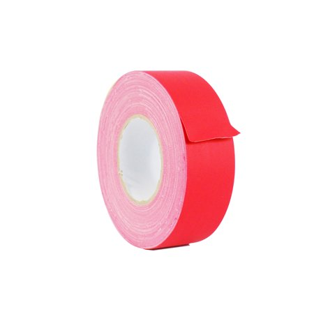 WOD CGT-80 Gaffer Tape Red Low Gloss Finish Film - 2.5 inch X 60 yds. - Residue Free, Non Reflective Gaffer, Better than Duct Tape (Available in Multiple Colors)