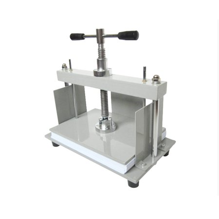 INTBUYING A4 Steel Bookbinder Press Screw Bookbinding Financial Receipt Flattening Papermaking Machine - image 1 of 4