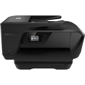 HP Officejet 7510 Inkjet Multifunction Printer - Color - Plain Paper Print - Desktop - Copier/Fax/Printer/Scanner - 33 ppm Mono/29 ppm Color Print - 4800 x 1200 dpi Print - 1 x Input Tray 250 She