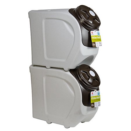 Gamma Vittles Vault Storage Container - Vittles Vault Stackable Pet Food Container 65 lbs