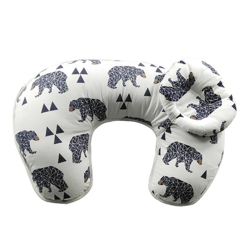 Cluxwal Multifunction Breastfeeding Nursing Pillows Cartoon Cushion for Newborn Baby Lying Removable and... by Cluxwal