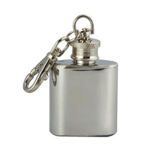I OUNCE STAINLESS STEEL KEY CHAIN FLASK ()