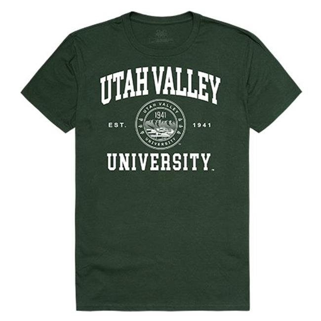 W Republic Apparel 526-210-FOR-01 Utah Valley University Seal Tee, Forest - Small - image 1 of 1