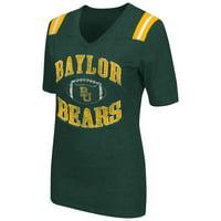 """Baylor Bears Women's NCAA """"Artistic"""" Dual Blend Short Sleeve T-Shirt"""