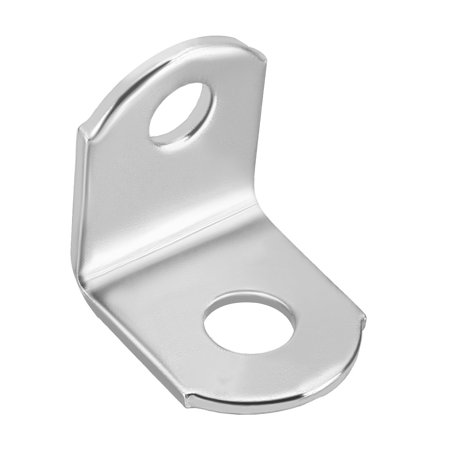 Corner Brace Angle Bracket Fastener L Shape 18mmx18mmx15mm Stainless Steel 10pcs - image 3 of 3